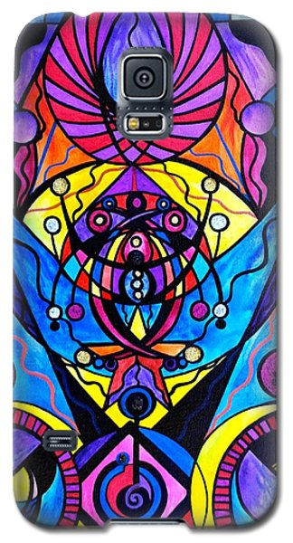 Swan Galaxy S5 Case - The Time Wielder by Teal Eye Print Store