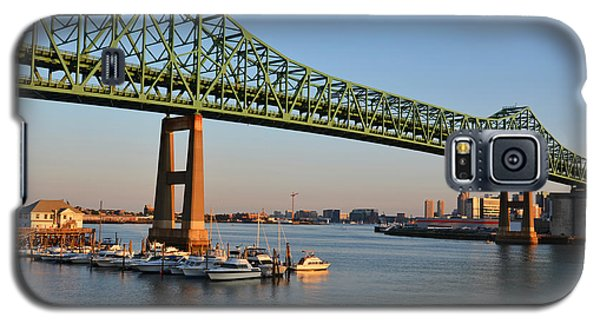 The Tobin Bridge Into The Sunset Chelsea Yacht Club Galaxy S5 Case