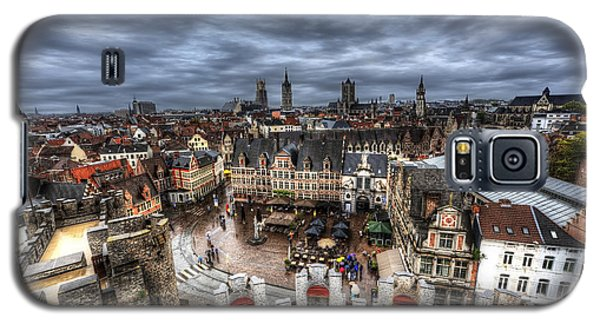 The Top Of Ghent Galaxy S5 Case by Shawn Everhart