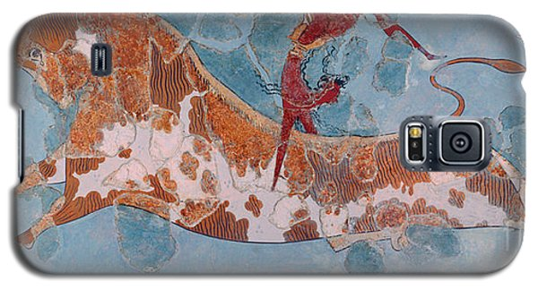 The Toreador Fresco, Knossos Palace, Crete Galaxy S5 Case