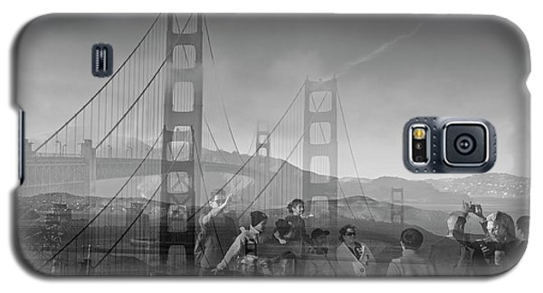 The Tourists - Golden Gate Galaxy S5 Case