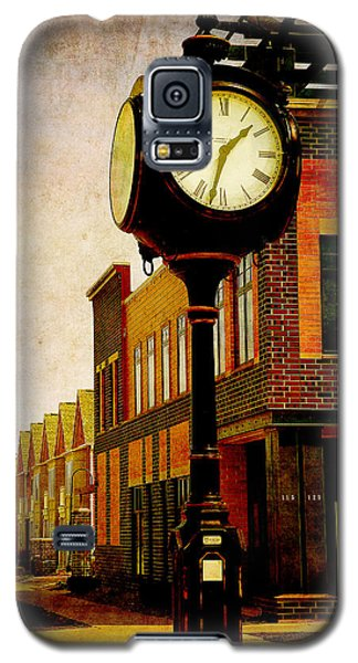 the Town Clock Galaxy S5 Case