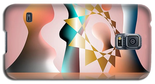 Galaxy S5 Case featuring the digital art The Tradition Founder by Leo Symon