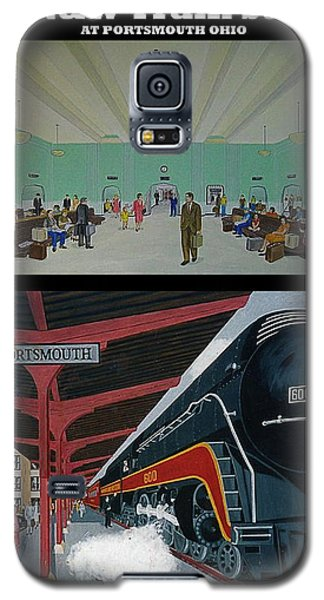 The Train Station At Portsmouth Ohio Galaxy S5 Case