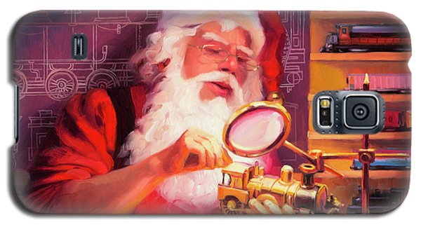 Elf Galaxy S5 Case - The Trainmaster by Steve Henderson
