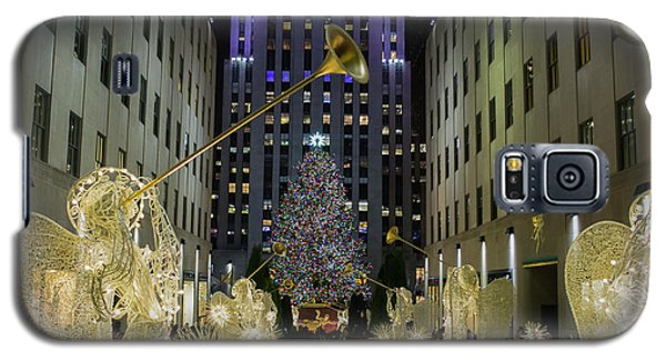 The Tree At Rockefeller Plaza Galaxy S5 Case