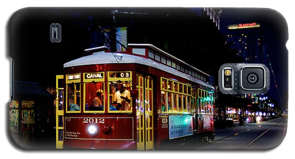 Galaxy S5 Case featuring the photograph The Trolley by Evgeny Vasenev
