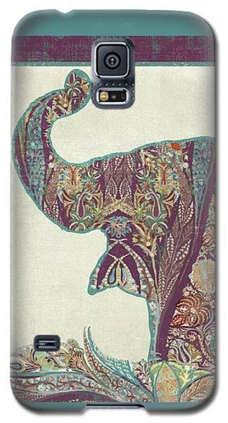 The Trumpet - Elephant Kashmir Patterned Boho Tribal Galaxy S5 Case