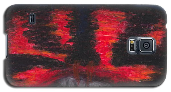 Galaxy S5 Case featuring the painting The Truth by Ania M Milo