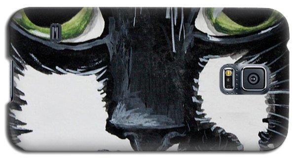 The Tuxedo Cat Galaxy S5 Case by Elizabeth Robinette Tyndall