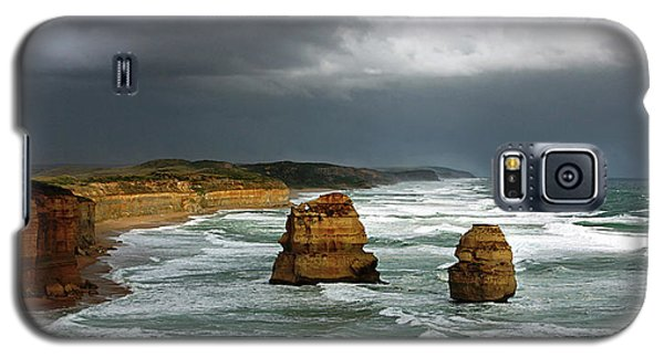 Galaxy S5 Case featuring the photograph The Twelve Apostles by Marion Cullen