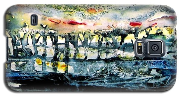 Galaxy S5 Case featuring the painting The Twisted Reach Of Crazy Sorrow by Trudi Doyle
