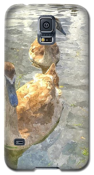 The Two Cygnets Galaxy S5 Case
