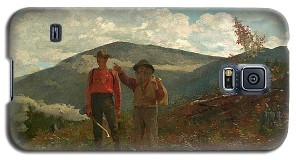 Galaxy S5 Case featuring the painting The Two Guides by Winslow Homer