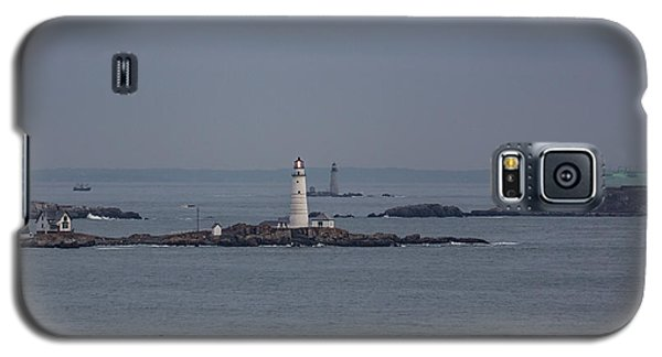 The Two Harbor Lighthouses Galaxy S5 Case