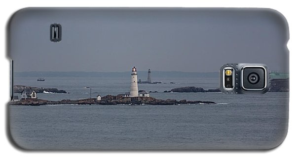 The Two Harbor Lighthouses Galaxy S5 Case by Brian MacLean
