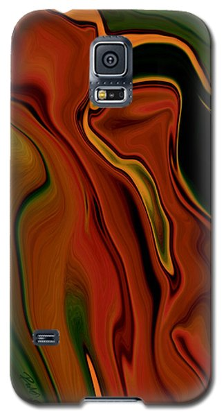 Galaxy S5 Case featuring the digital art The Two by Rabi Khan