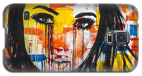Galaxy S5 Case featuring the painting The Unseen Emotions Of Her Innocence by Bruce Stanfield