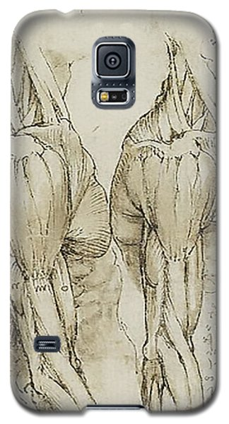 Galaxy S5 Case featuring the painting The Upper Arm Muscles by James Christopher Hill