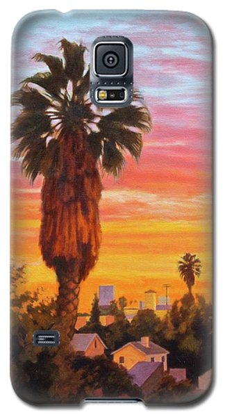 Galaxy S5 Case featuring the painting The Urban Jungle by Andrew Danielsen