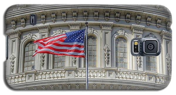 Capitol Building Galaxy S5 Case - The Us Capitol Building - Washington D.c. by Marianna Mills