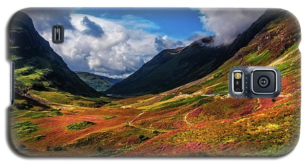 The Valley Of Three Sisters. Glencoe. Scotland Galaxy S5 Case by Jenny Rainbow