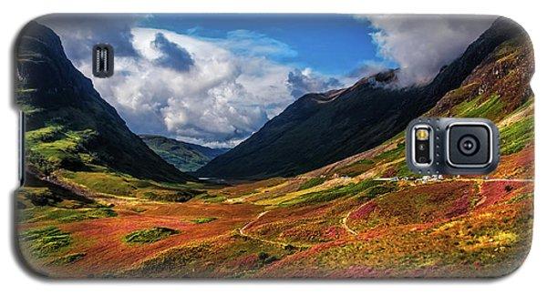 The Valley Of Three Sisters. Glencoe. Scotland Galaxy S5 Case