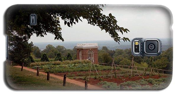 The Vegetable Garden At Monticello Galaxy S5 Case by LeeAnn McLaneGoetz McLaneGoetzStudioLLCcom