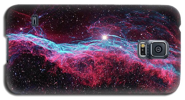 Galaxy S5 Case featuring the photograph The Veil Nebula by Nasa