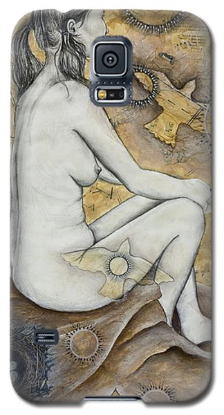 Galaxy S5 Case featuring the mixed media The Vessel by Sheri Howe