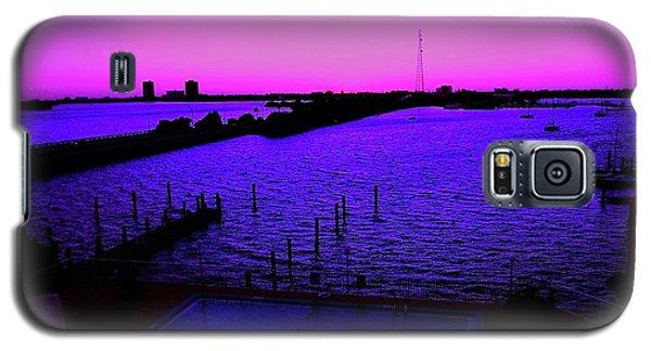 The Purple View  Galaxy S5 Case