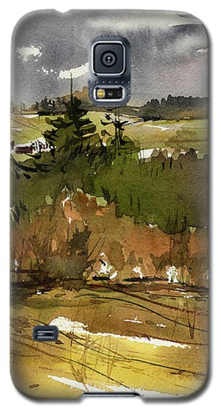The View On Burlingame Road Galaxy S5 Case by Judith Levins
