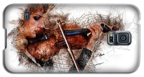 The Violinist Galaxy S5 Case