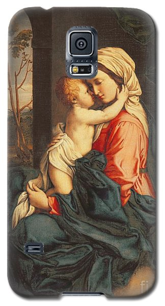 The Virgin And Child Embracing Galaxy S5 Case