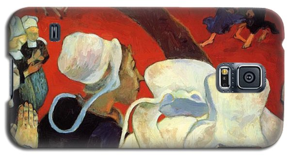 The Vision After The Sermon Jacob Wrestling With The Angel 1888 Galaxy S5 Case