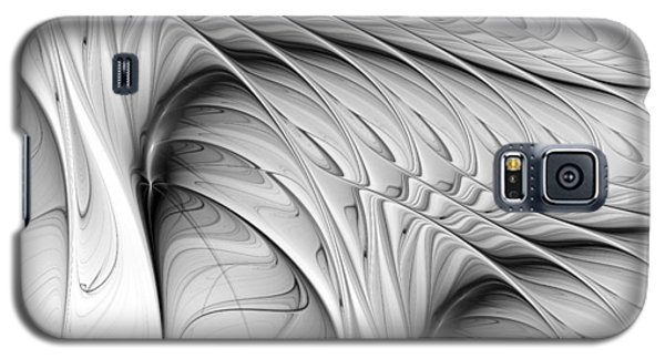 Galaxy S5 Case featuring the digital art The Wall by Anastasiya Malakhova