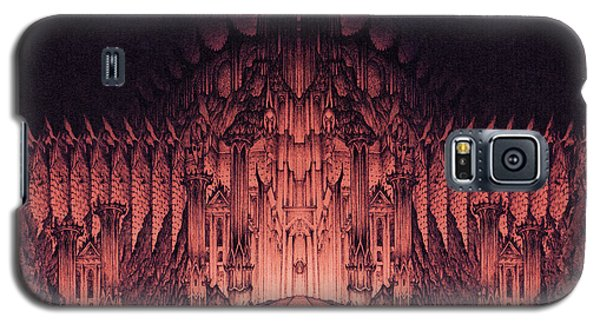 The Walls Of Barad Dur Galaxy S5 Case by Curtiss Shaffer