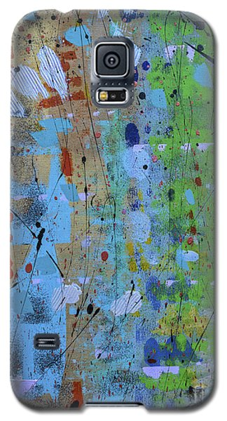 Galaxy S5 Case featuring the painting The Wandering Thought by Theresa Kennedy DuPay