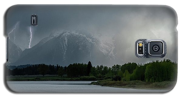 Galaxy S5 Case featuring the photograph The Warning by Sandra Bronstein