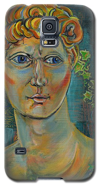 Galaxy S5 Case featuring the painting The Warrior by John Keaton