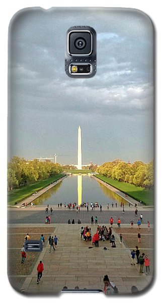 The Washington Monument And The Reflecting Pool Galaxy S5 Case