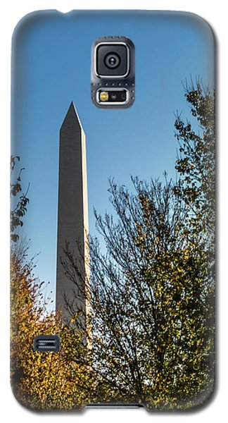 The Washington Monument In Fall Galaxy S5 Case