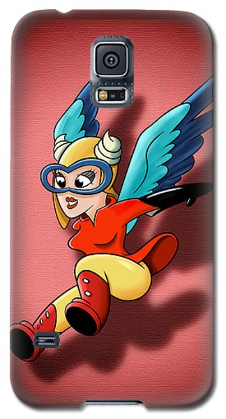 the WASP Galaxy S5 Case by David Collins