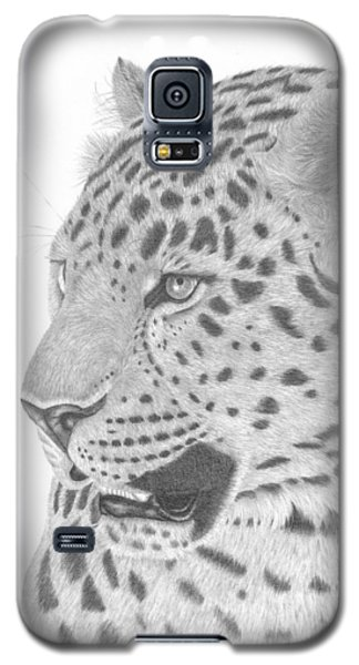 The Watchful Leopard Galaxy S5 Case