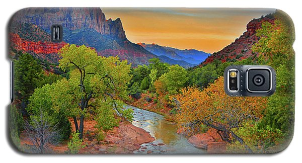 The Watchman And The Virgin River Galaxy S5 Case