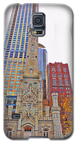 The Water Tower In Autumn Galaxy S5 Case