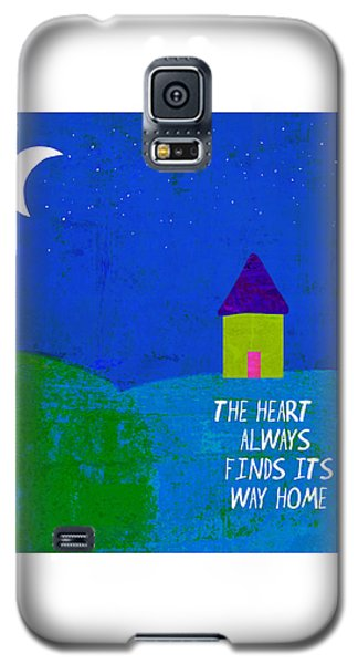 Galaxy S5 Case featuring the painting The Way Home by Lisa Weedn