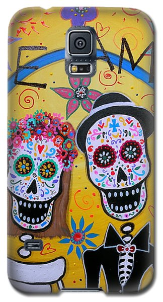 The Wedding Day Of The Dead Galaxy S5 Case