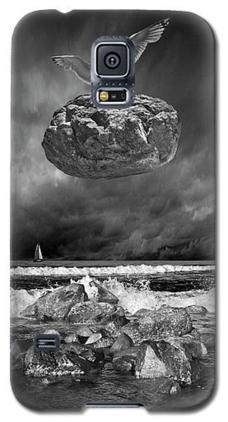 Galaxy S5 Case featuring the photograph The Weight Is Lifted by Randall Nyhof