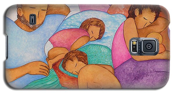 The Wendts Family Bed Galaxy S5 Case by Gioia Albano